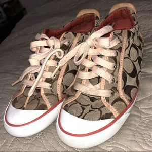 Coach Sneakers Size 7 1/2